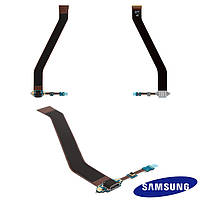 Шлейф для Samsung Galaxy Tab 3 P5200, P5210, коннектора зарядки, с компонентами, оригинал