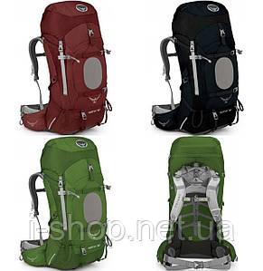 Рюкзак мужской OSPREY AETHER 60 (темно-синий, красный, зеленый)