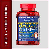 Puritans Pride Double Strength Omega-3 Fish Oil 1200 мг 90 капс.