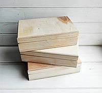 Шкатулка со съемной крышкой заготовка для декупажа 9*14 см, 1 шт