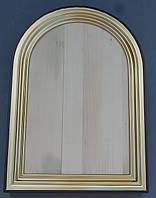 Арочная рамка-киот для иконы.