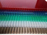 Поликарбонат:бронзовый,опал,зеленый,синий,красный
