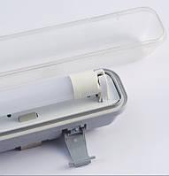 Промышленный светильник под LED лампу T8x2 (0.6m), фото 1