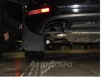 Брызговики задние для Volkswagen Touareg c 2010- кросс. (полиуретан)