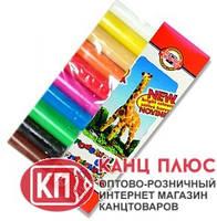 """Koh-i-Noor Пластилин 10 цветов, 200г, """"Жираф"""" в картонной упаковке арт.131504"""