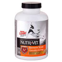 Nutri-Vet Brewers Yeast НУТРИ-ВЕТ БРЭВЕРС ЭСТ витаминный комплекс для шерсти собак, жевательные таблетки