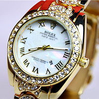 Женские часы Rolex Oyster Perpetual Datejust Gold R5801, фото 1