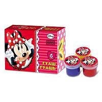 Краски гуашевые Olli OL-224-6DM Disney Minnie Mouse 6 цветов 10 мл в картонной упаковке (325218)