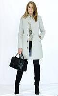 Кашемировое пальто приталенного кроя