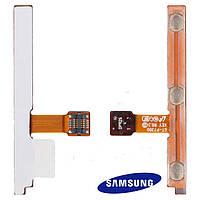 Шлейф для Samsung Galaxy Tab P7300/P7310, боковой кнопки, с компонентами (оригинальный)