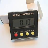 Угломер цифровой уклономер одноосевой мини транспортир (точность 0,1 градуса) протрактор инклинометр магнит уг