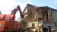 Демонтаж дома, фото 1