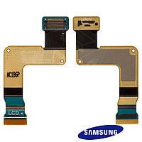 Шлейф для Samsung Galaxy Tab P7300/P7310, дисплея, с компонентами (оригинальный)