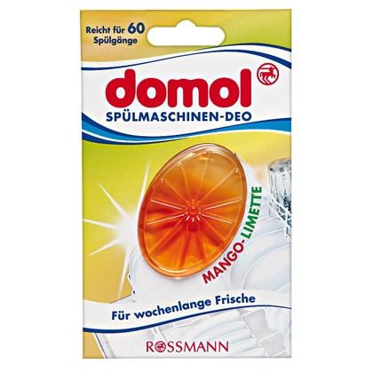 Domol Spülmaschinen-Deo Mango-Limette - Ароматизатор-нейтрализатор запахов Манго и Лайм, 1 шт