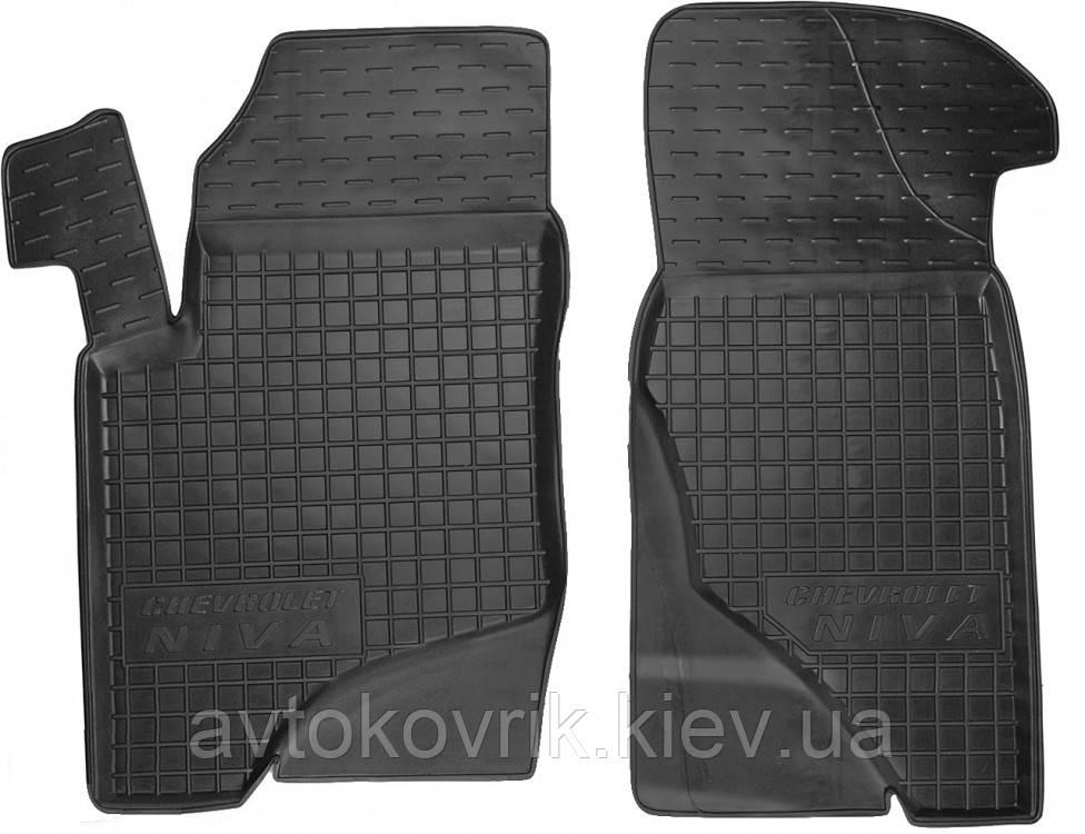 Полиуретановые передние коврики в салон Chevrolet Niva 2002- (AVTO-GUMM)