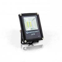 Светодиодный прожектор EVRO LIGHT ES-10-01, 10W, 220V, IP65, Econom, 550Lm, 6400K белый холодный