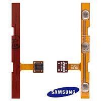 Шлейф для Samsung Galaxy Tab P7500 / P7510, боковой кнопки, с компонентами, оригинал