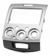 2-DIN переходная рамка FORD Ranger 2006-2010, Everest 2006-2013 / MAZDA BT-50 2006-2011 (Silver), CARAV 11-275