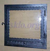 Дверцы к камину с жаропрочным стеклом