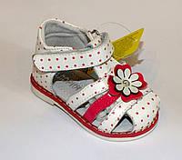 Босоножки с ромашками для малышей, фото 1