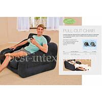 Надувное кресло-трансформер Intex 68565 (109х218х66 см), фото 1