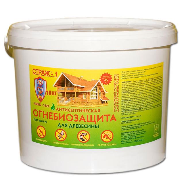 Биозащита древесины, сухой концентрат - Компания «Строй-Сервис» в Кременчуге