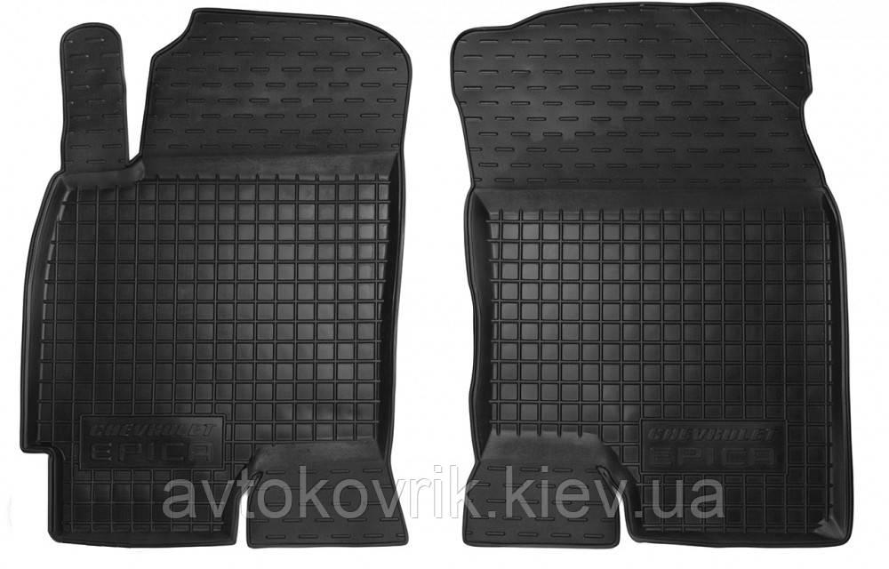 Полиуретановые передние коврики в салон Chevrolet Evanda 2000-2006 (AVTO-GUMM)