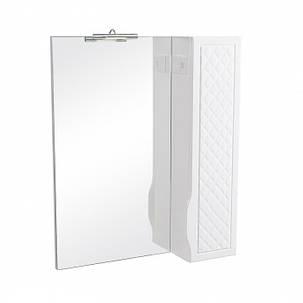 Зеркало с пеналом Аква Родос Родорс 70 с подсветкой, фото 2