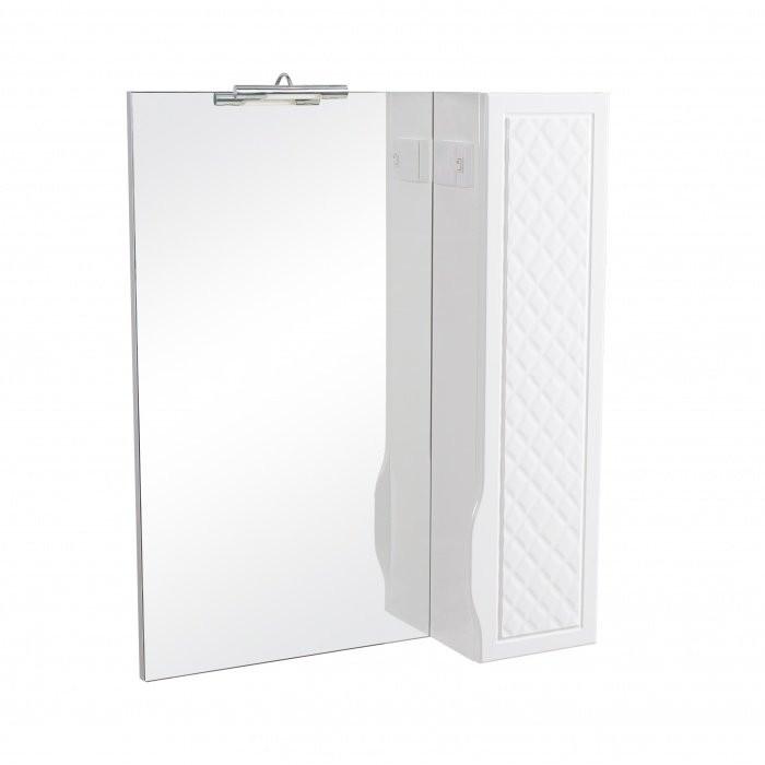 Зеркало с пеналом Аква Родос Родорс 70 с подсветкой