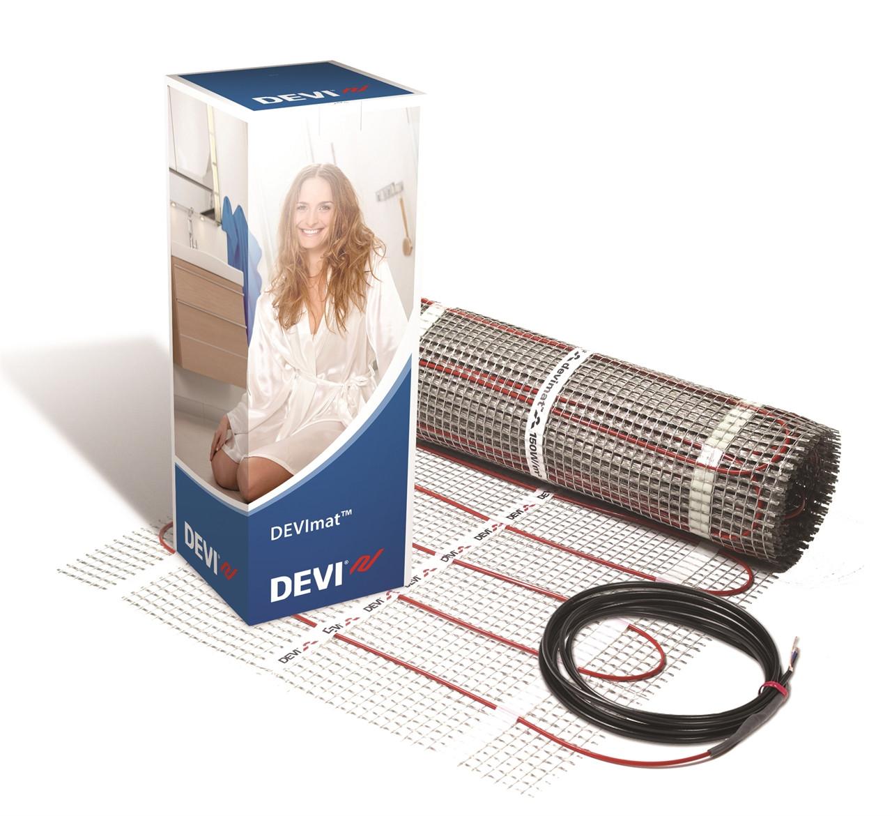Нагрівальні мати DEVIcomfort 100T™ (DTIR-100) (Данія) Тепла підлога 2.5