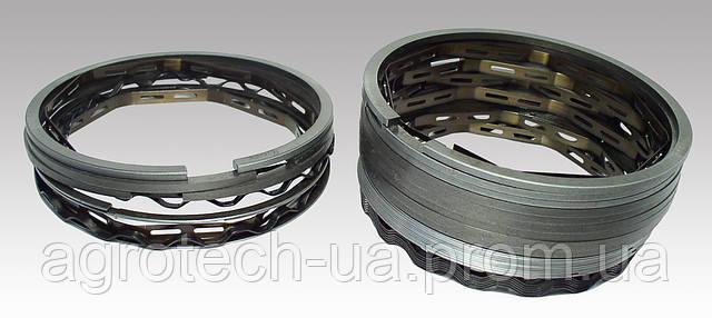 Поршневые кольца к Д-50 с дополнительным стальным 4-х элементным маслосъемным кольцом