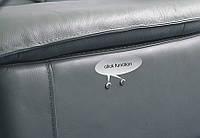Мебель хай-тек,кожаный угловой диван FINO.шкіряний куток