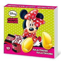 Пластилин Olli Minnie Mouse Ol-012DM 10 цветов 200г(420203)