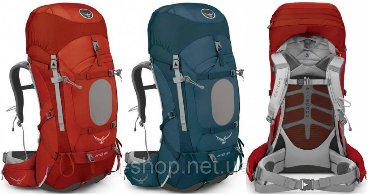 Рюкзак женский OSPREY ARIEL 55 (оранжевый, бирюзовый)