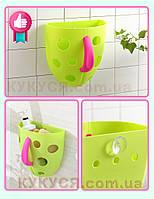 Чаша для хранения игрушек в ванной