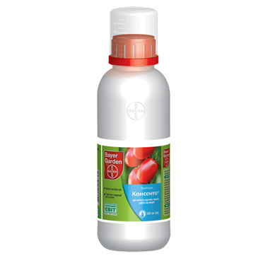 Фунгицид системный Консенто (500мл) - против заболеваний на томатах, картофеле, луке, фото 2