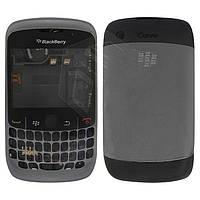 Корпус для Blackberry 8520, серый, оригинал