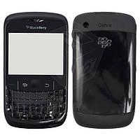 Корпус для Blackberry 8520 - оригинальный (черный)