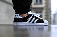 Кроссовки Adidas Superstar Supercolor black/white/gold