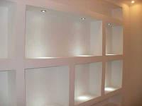 Панели из гипсокартона для отделки стен