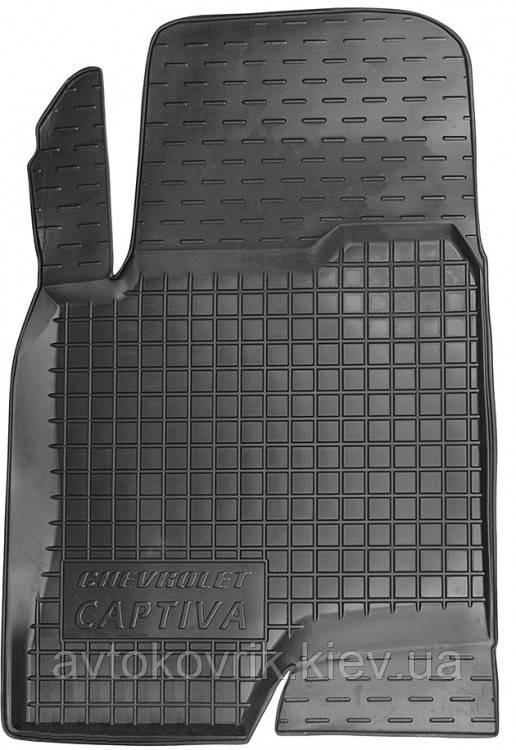 Полиуретановый водительский коврик в салон Chevrolet Captiva 2011-2015 (AVTO-GUMM)