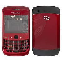 Корпус для Blackberry 8520 - оригинальный (красный)