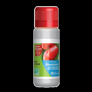Фунгицид системный Консенто (20 мл) — против заболеваний на томатах, картофеле, луке, фото 2