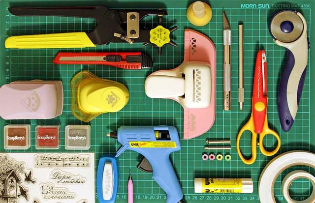 Инструменты для декорирования