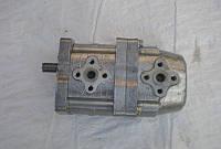 Насос шестеренчатый сдвоенный (спаренный) НШ-10-10
