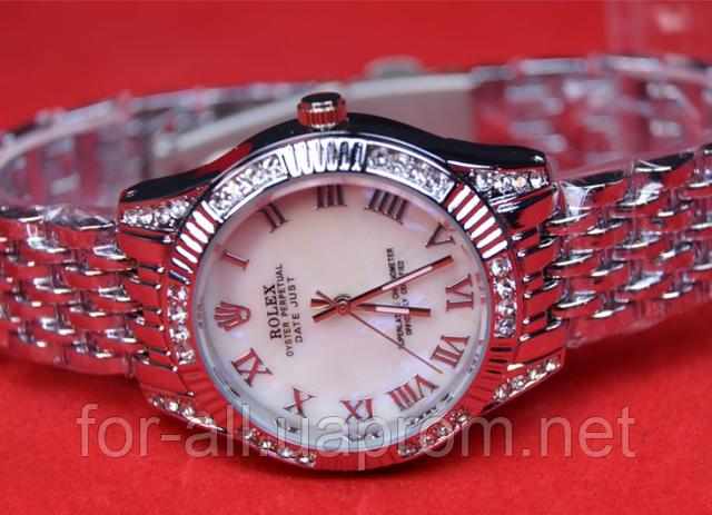 Часы женские наручные Rolex Oyster Perpetual Datejust Silver R5892 в интернет-магазине Модная покупка