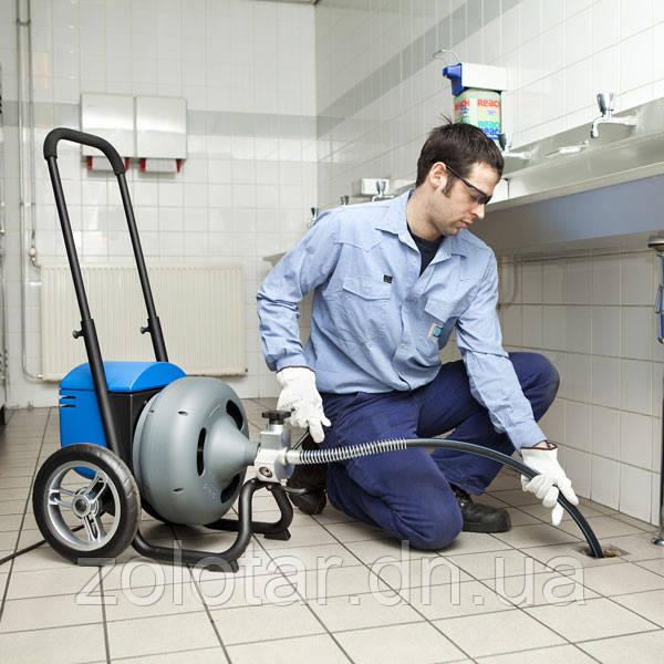 Прочистка канализации электро-механическим методом