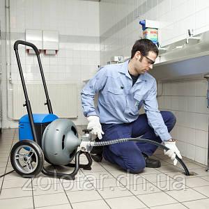 Прочищення каналізації електро-механічним методом