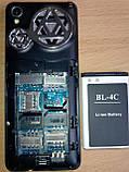 Телефон на 3 сим Q008 c TV, фото 6