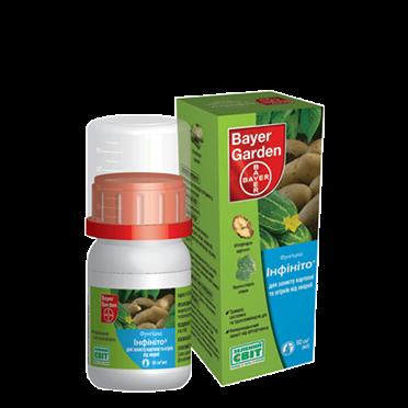 Фунгицид системный Инфинито (60 мл) — против фитофторы, ложной мучнистой росы